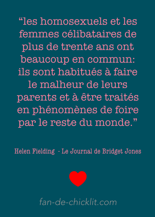 Citation Bridget Jones Helen Fielding